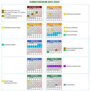 Inicio de curso 21/22 Ed. Infantil, Primaria y Especial